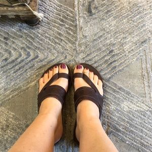 Tom's Brown Bohemian Sandals